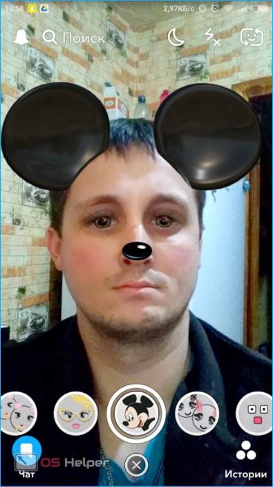 Уши мауса