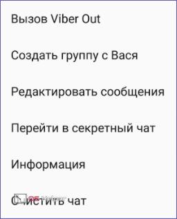 Функции диалога