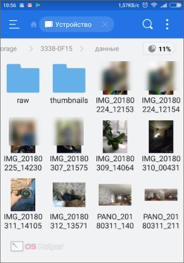 Файлы скопированы