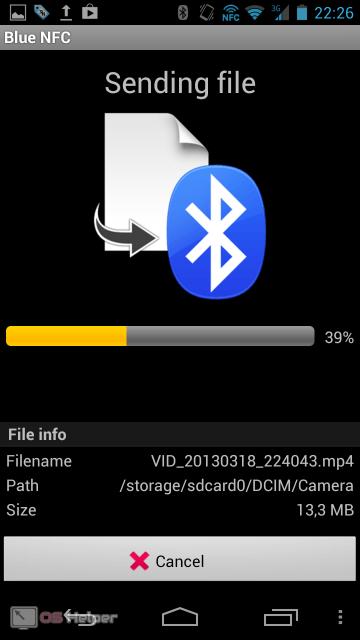 Blue NFC