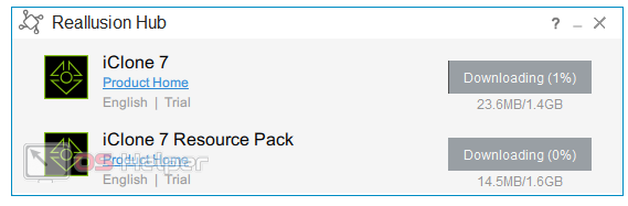 Скачивание всех необходимых файлов