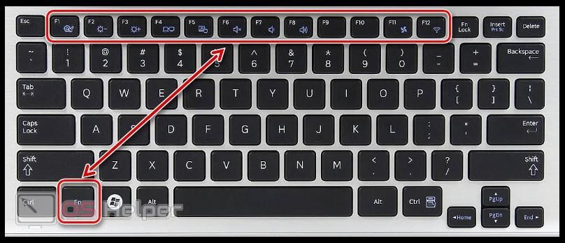 Сочетание клавиш