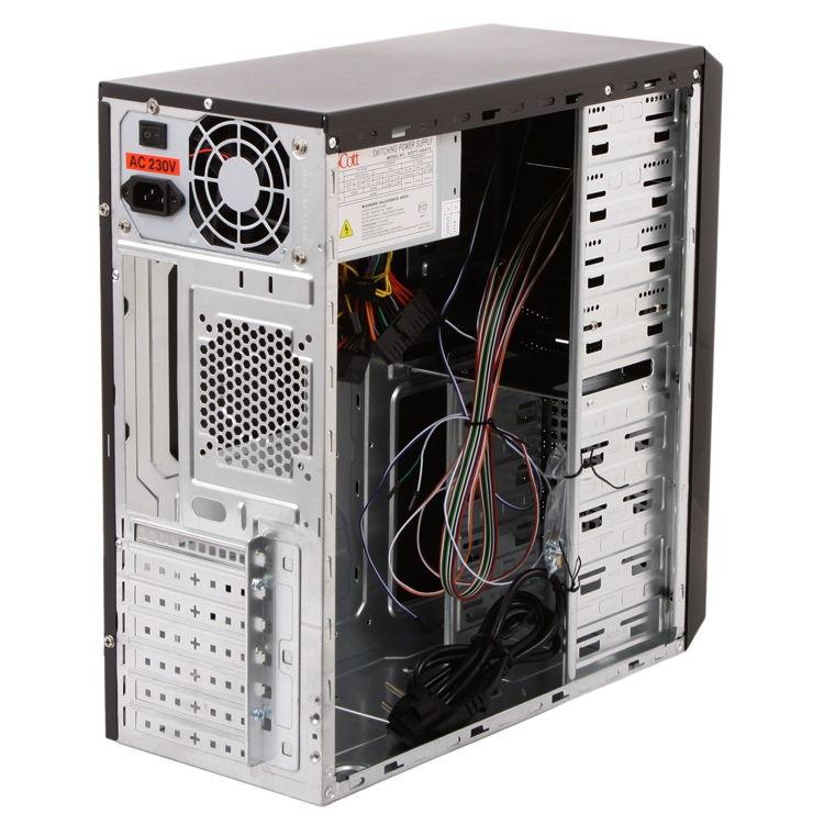 Корпус и блок питания компьютера